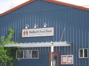 Ballard Food Bank Outdoor Lights